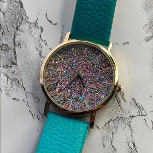 Accessories - Colorful Pearlescent Loose Powder Dial Watch